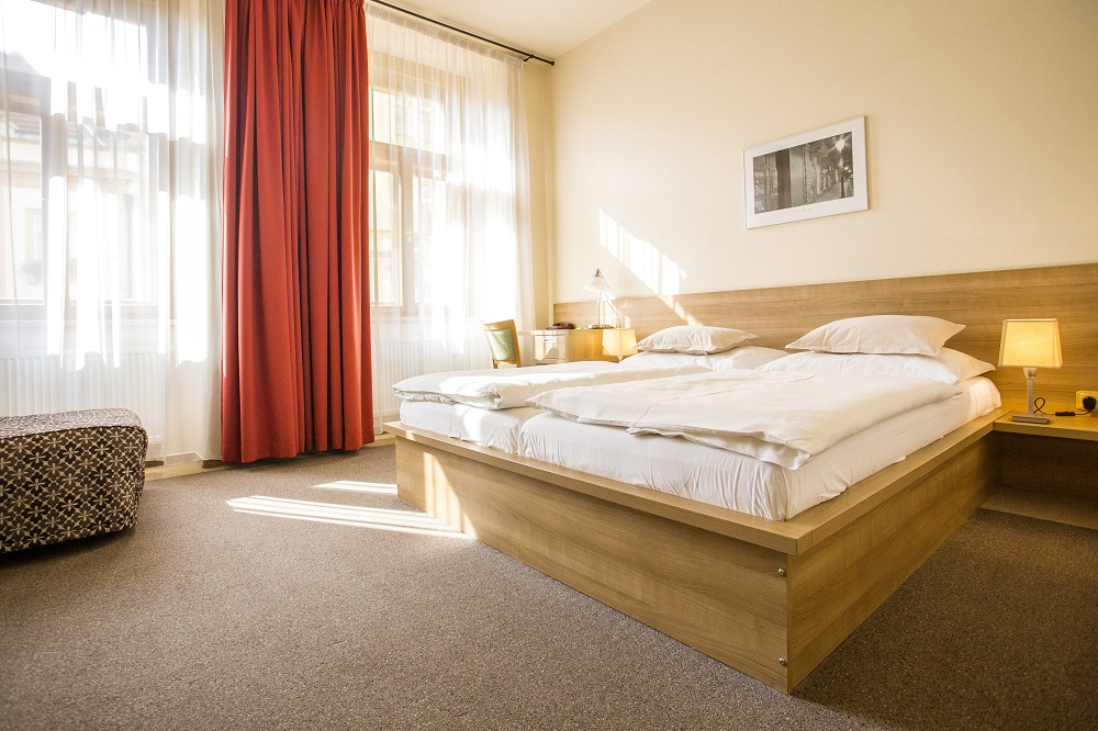 rezidence dlouhá 17 pokoj superior